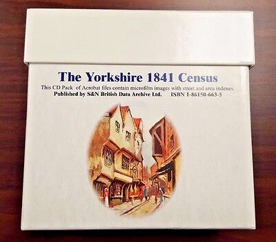 The Yorkshire 1841 Census