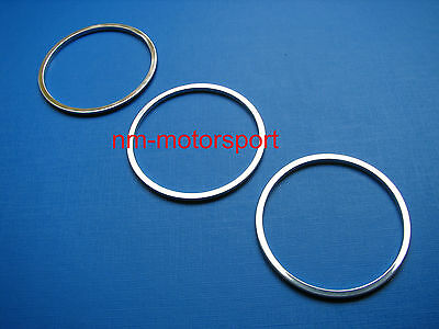 BMW Z3 Chrome Style Heater Control Knob Rings