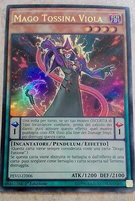 Mago Tossina Viola PEVO-IT006 Ultra Rara  MINT  YU-GI-OH!