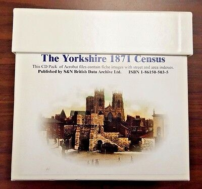 The Yorkshire 1871 Census