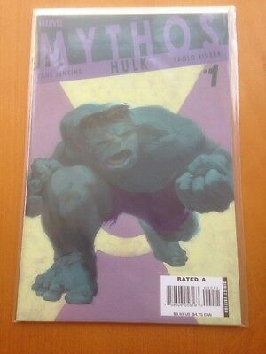Incredible Hulk: Mythos (2006) #1 Oneshot - Marvel Comics