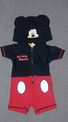 **BNWT** Hooded Mickey Mouse One Piece Swimsuit – Size 00