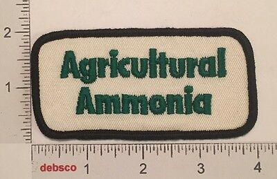 Vintage Agricultural Ammonia Fertilizer Farm Embroidered PATCH