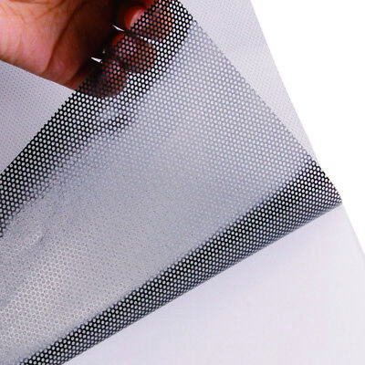 """5ft x 42"""" Perforated one way vision vinyl printing decal for windows"""