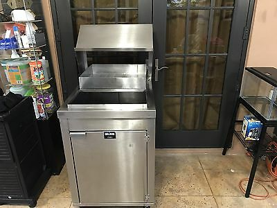 Stainless Steel Counter breading station Giles Brand