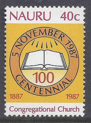 1987 Nauru Congregational Church Centennial Fine Mint Muh/mnh