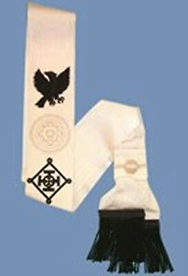 Red Cross Of Constatine Companions Sash (free delivery)