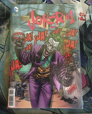 Joker # 1 Lenticular cover Variant SOLD OUT! DC COMICS SPANISH