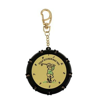 Golf 18 Holes Stroke Shot Putt Scoring Keeper Score Counter With Key Chain