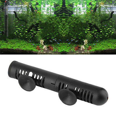 18cm Aquarium Fish Tank Heater Guard Protective Cover Case with Suction Cups ZY