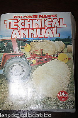 Power Farming  Technical Annual 1987