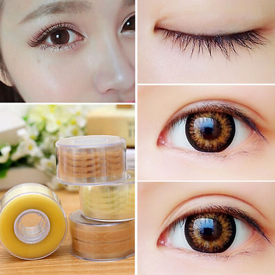 600pcs Pro Invisible Double-sided Thin Eyelid Adhesive Stickers Eye Tape Makeup
