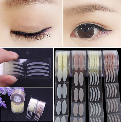 600pcs Invisible Lace Eye Lift Strips Double Eyelid Adhesive Tape Makeup Sticker