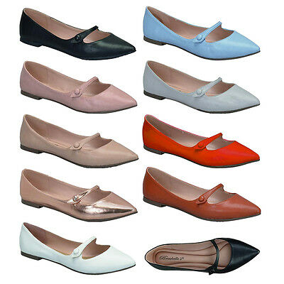 Women's Comfort Mary Jane Slip On Ballet Flats