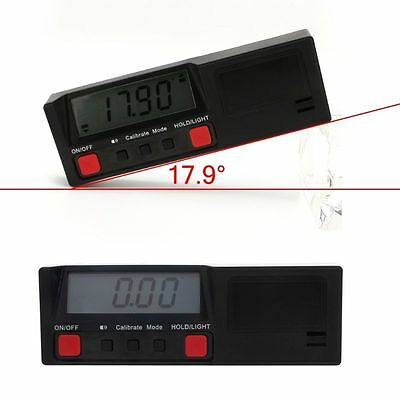 360 degree Digital Inclinometer Protractor Angle Finder Gauge Horizontal Bevel