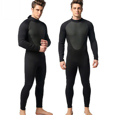 3mm Men Diving Suit Full Wetsuit Scuba Hooded Surfing Clothes sunscreen clothes