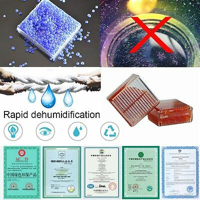 Kit Mouldproof Camera Microscopes Desiccant Moisture Absorb Dry Box Silica Gel