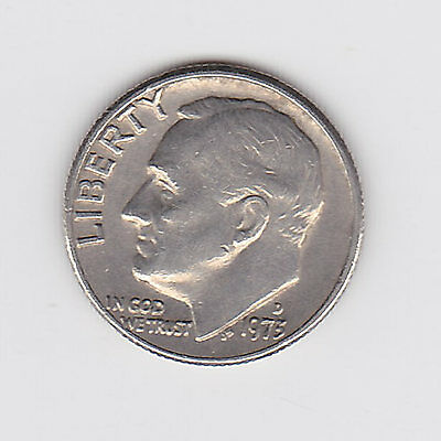 1975D Usa One 1 Dime - Very Nice Vintage Coin