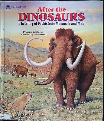After the Dinosaurs Storybook by Golden Books (Hardback, 1989) 0307158616 large