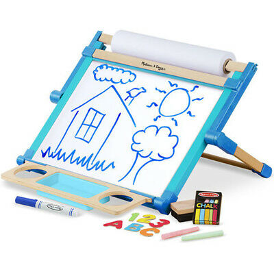 Melissa and Doug Deluxe Double Sided Table Top Easel - Kids Painting Activities