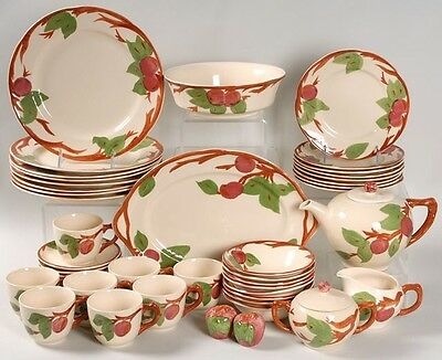 Franciscan Apple China Set for 8, Many Serving Pieces