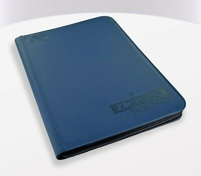 Ultimate Guard - 9-Pocket Zipfolio XenoSkin Blue - Karten Mappen