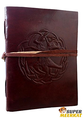 Journal Diary Notebook Leather Genuine Cover Vintage Travel Handmade 100 Sheet