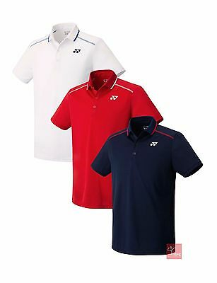 Yonex 10175EX Mens Polo Shirt - Available in Navy Blue, White, Sunset Red
