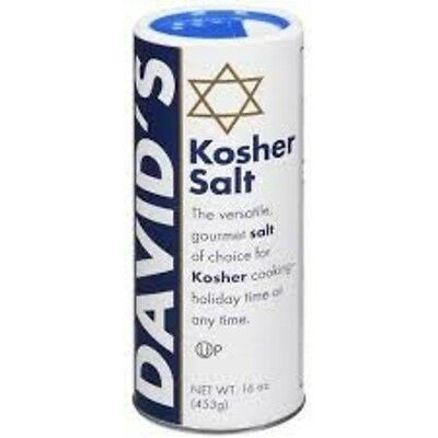 DAVID'S KOSHER SALT 453g - The Versatile Salt for Gourmet Cooking