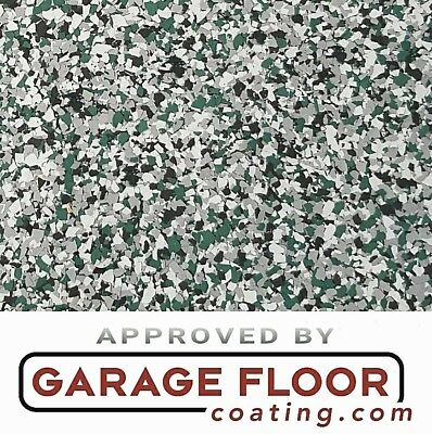 """20 lb - Decorative Color Chip Flakes for Epoxy Floor Coatings,1/4"""" Blend CCB-012"""