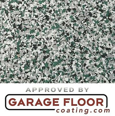 """5 lbs - Decorative Color Chip Flakes for Epoxy Floor Coatings,1/4"""" Blend CCB-012"""