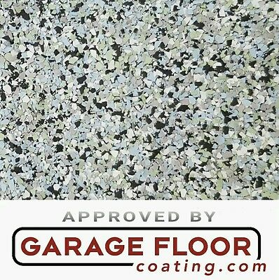 """2 lbs - Decorative Color Chip Flakes for Epoxy Floor Coating, 1/8"""" Blend CCB-011"""