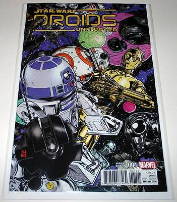 STAR WARS : DROIDS UNPLUGGED # 1  Marvel Comic Aug 2017 NM  VARIANT COVER