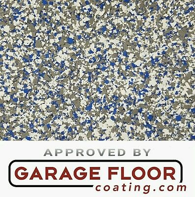 """5 lbs - Decorative Color Chip Flakes for Epoxy Floor Coating, 1/4"""" Blend CCB-005"""