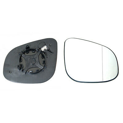 RENAULT KANGOO 2008-/>2012 DOOR//WING MIRROR GLASS SILVER,NONHEATED/&BASE,RIGHTSIDE