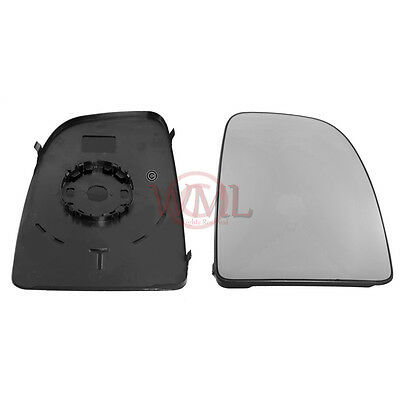 Citroen Relay 2006->2019 Door Mirror Glass,Non Heated With Base Plate Right Side