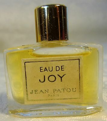 Vintage Eau De Joy By Jean Patou parfum, perfume Splash Discontinued France Sgd