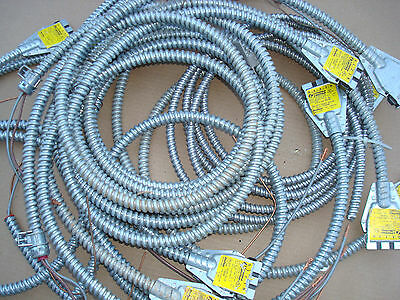 Lot of 11 pc NOS Lithonia 5 ft long one pass cable OD-277 12/2G D 05 20 amp