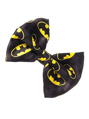 Official Dc Comics: Batman Symbol Hair Bow (Brand New)