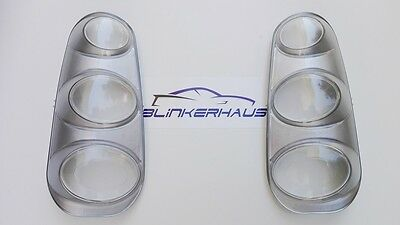 CLEAR Smart Fortwo W 450 CDi Brabus Limited 1st Edition 2002- Rear Lights Lenses
