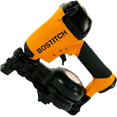 "Bostitch RN46-1 3/4"" to 1-3/4"" 15 Deg. Coil Roofing Nailer New"