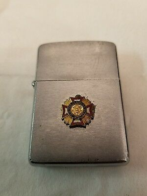Lighter Zippo Veterans of Foreign Wars of the United States Emblem 1960