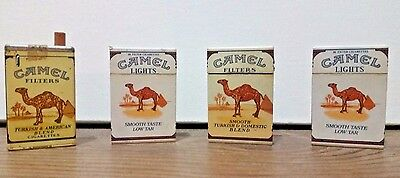 Vintage Camel Cigarette Lighters Lot Collectible Tobacco Advertising