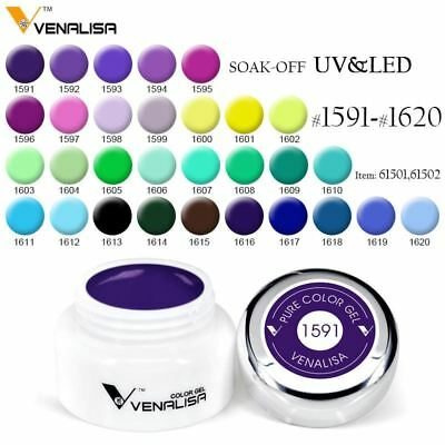 Venalisa Painting Gel soak off UV LED 5ml Pure Gel 1591 - 1620