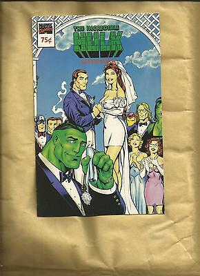 Incredible Hulk 418 Wedding Ashcan comic book nm Cents 1994 Marvel comics