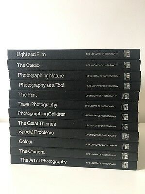 Life Library Of Photography Books - 12 Hardback Books