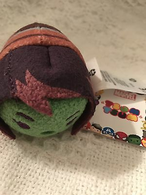 New Disney Marvel Guardians Of The Galaxy Gamora  Tsum Tsum 3.5 Mini Plush