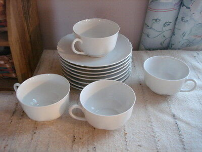 Heinich H&C Selb Bavaria Cups Saucer lot  China  Pieces set