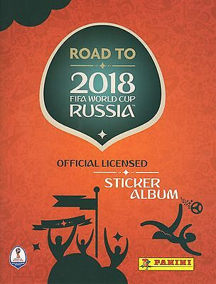 Panini Road To Russia World Cup 2018 Loose Stickers Qty 5,10,20,30,40,50,75,100