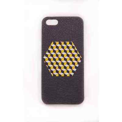 Coque iPhone 5 5S SE Yellow Cube Meat Japan - Plastique